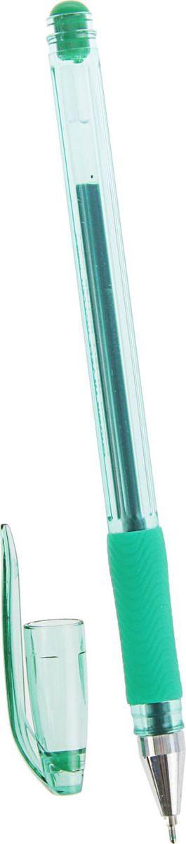 Crown Ручка гелевая HJR-500RN зеленая2269012