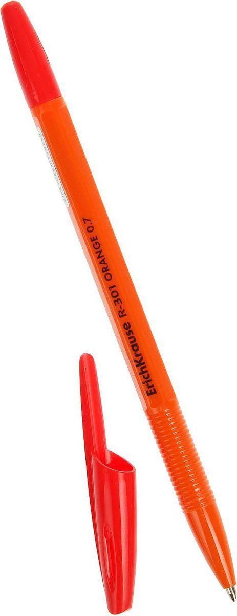 Erich Krause Ручка шариковая R-301 Orange Stick EK красная 50 шт2288909