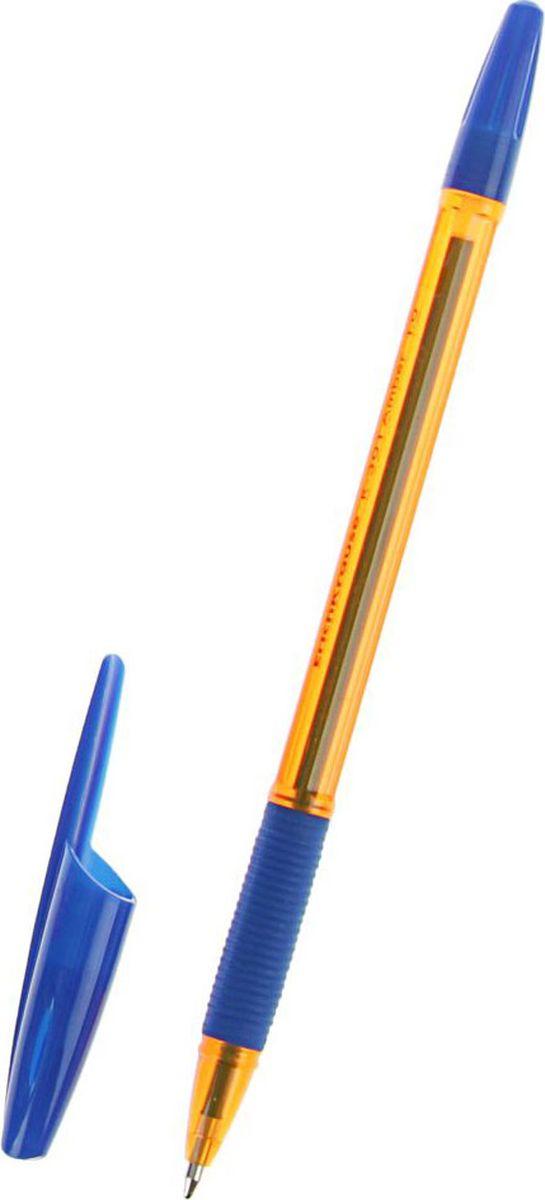 Erich Krause Ручка шариковая R-301 Amber Stick & Grip EK синяя2329673