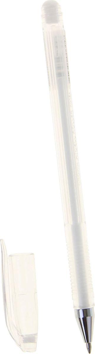 Crown Ручка гелевая HJR-500P белая1088393В гелевой ручке Crown содержатся специальные чернила, в состав которых входит вода и масляная основа. Водостойкие чернила хорошо пишут даже при низких температурах и долго не выцветают. Диаметр пишущего узла — 0,7 мм.