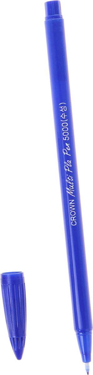 Crown Ручка капиллярная СМР-5000 синяя1088411Характеристики ручки: фибронаконечник в пластиковой обойме тонкая равномерная линия письма четкий контрастный след диаметр пишущего узла — 0,5 мм.