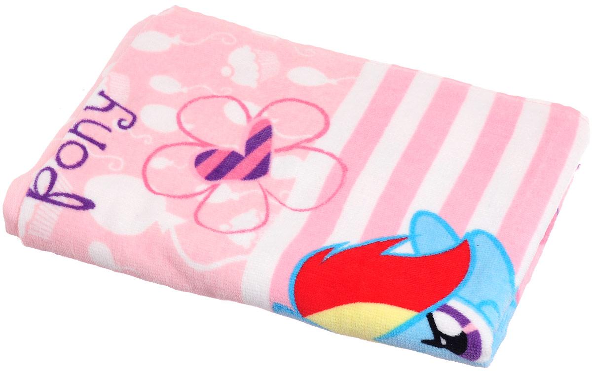 Bravo Полотенце детское Пони цвет розовый 60 x 120 см