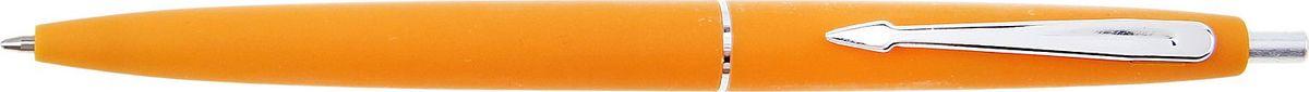 Calligrata Ручка шариковая Лого цвет корпуса оранжевый синяя