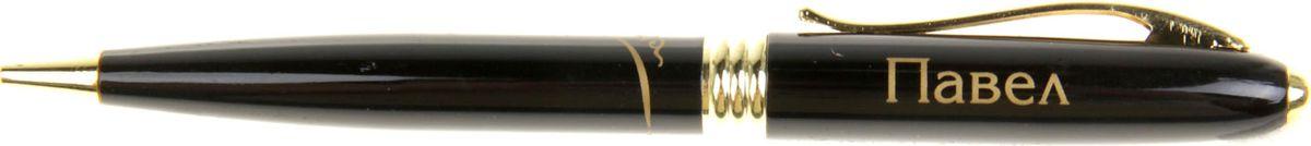 Ручка шариковая Тайна имени Павел синяя865626Хотите сделать по-настоящему индивидуальный подарок? Тогда вам непременно понравится стильная и удобная именная . Выполненная в эффектной черно-золотистый цветовой гамме, она прекрасно дополнит образ своего обладателя и, без сомнения, станет излюбленным аксессуаром. А имя, выгравированное классическим шрифтом, придает изделию неповторимую лаконичность. Поворотный механизм надежен и удобен в повседневном использовании – ручка не откроется случайно и не оставит синих чернильных пятен на одежде. Оригинальная коробка в стиле ретро понравится любому мужчине и сделает такой подарок еще более желанным!