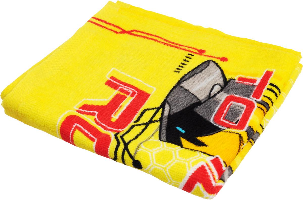 Bravo Полотенце детское Трансформеры цвет желтый 33 x 70 см