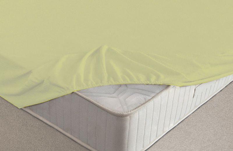 Простыня на резинке Ecotex, махровая, цвет: салатовый, 140 х 200 смПРМ14 салатовыйМахровые простыни на резинке сшиты из высококачественного махрового полотна, окрашены стойкими экологически безопасными красителями. Они уже успели завоевать признание потребителей благодаря своим практичным характеристикам. Имеют резинку по всему периметру, что даёт возможность надежно зафиксировать простыню на матрасе, тем самым создавая здоровый и комфортный сон. Натяжные махровые простыни довольно практичны, т.к. махровое полотно долговечно. Выолнены из 100% хлопка и не содержат синтетических добавок.