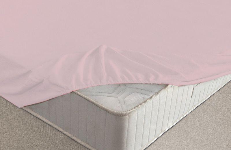 Простыня на резинке Ecotex, махровая, цвет: розовый, 160 х 200 смПРМ16 розовыйМахровые простыни на резинке сшиты из высококачественного махрового полотна, окрашены стойкими экологически безопасными красителями. Они уже успели завоевать признание потребителей благодаря своим практичным характеристикам. Имеют резинку по всему периметру, что даёт возможность надежно зафиксировать простыню на матрасе, тем самым создавая здоровый и комфортный сон. Натяжные махровые простыни довольно практичны, т.к. махровое полотно долговечно. Выолнены из 100% хлопка и не содержат синтетических добавок.