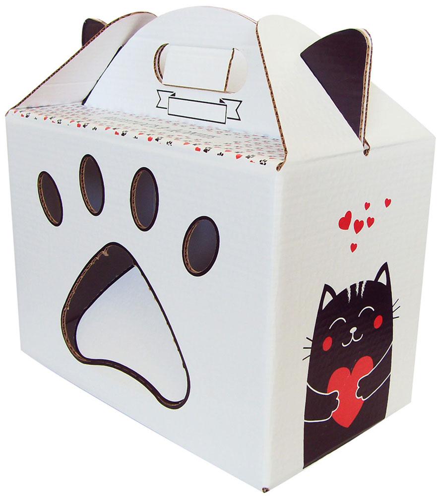 Переноска-домик для кошек