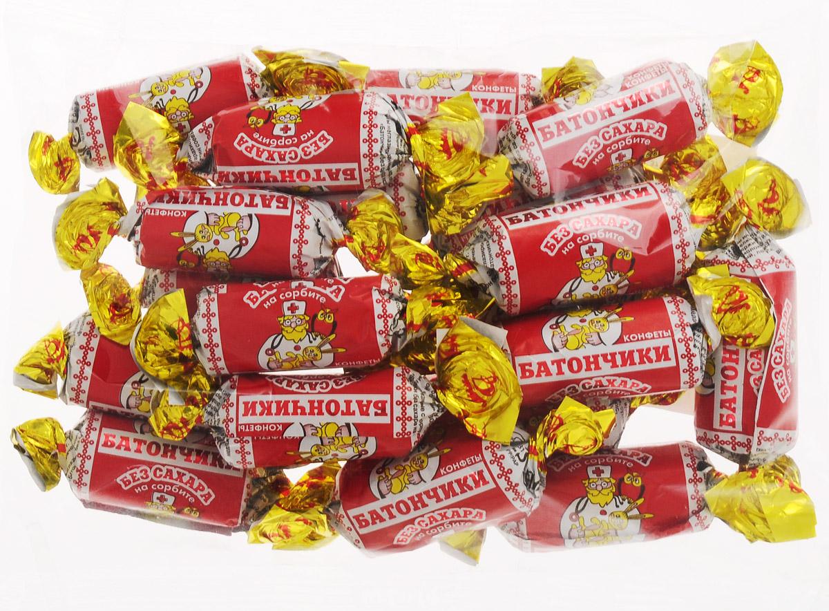 Воронежская кондитерская фабрика Батончики конфеты без сахара на сорбите, 250 г