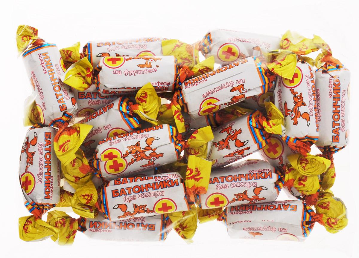 Воронежская кондитерская фабрика Батончики конфеты без сахара на фруктозе, 250 г