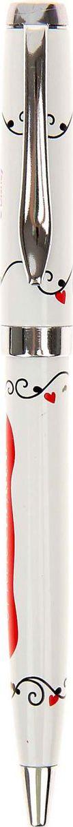 Disney Ручка шариковая Я тебя люблю Микки Маус и друзья синяя1155223Дети любят все яркое и цветное. Письменные принадлежности не исключение. Ручка подарочная Я тебя люблю!, Микки Маус и друзья станет любимой у ребенка. Ее эффектный металлический корпус и необычный дизайн любого вдохновят писать с удовольствием на занятиях в школе и дома. Она будет долго радовать хозяина. Классические герои мультфильмов Disney будут также интересны взрослым, которые любят радовать себя яркими и оригинальными вещами! Побалуйте своего внутреннего ребенка.