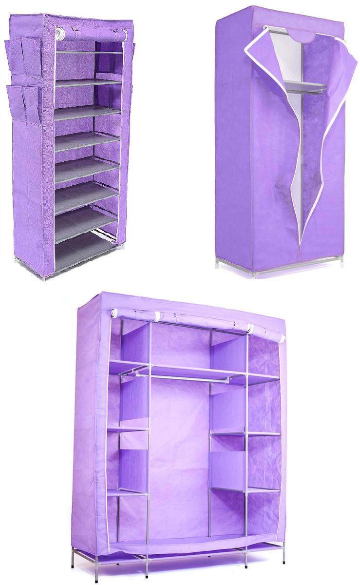 Набор кофров для хранения Homsu, цвет: фиолетовый, 3 предметаDEN-61Уникальный дизайн этого комплекта станет настоящим украшением для любого интерьера. Практичная составляющая подобной мебели также вне сомнений. Лёгкие и прочные устойчивые конструкции из каркасов и тканевой обивки могут быть легко собраны вами без посторонней помощи, буквально за несколько минут. Такая мебель будет всегда удобной и максимально практичной, ведь верхнюю тканевую часть при надобности можно всегда постирать либо же попросту поменять на аналогичную другого цвета. Кроме того, такие конструкции всегда будут отличным решением для того, кому по душе мобильность и постоянная смена обстановки. 1400х500х1750; 680х450х1550; 600х300х1360