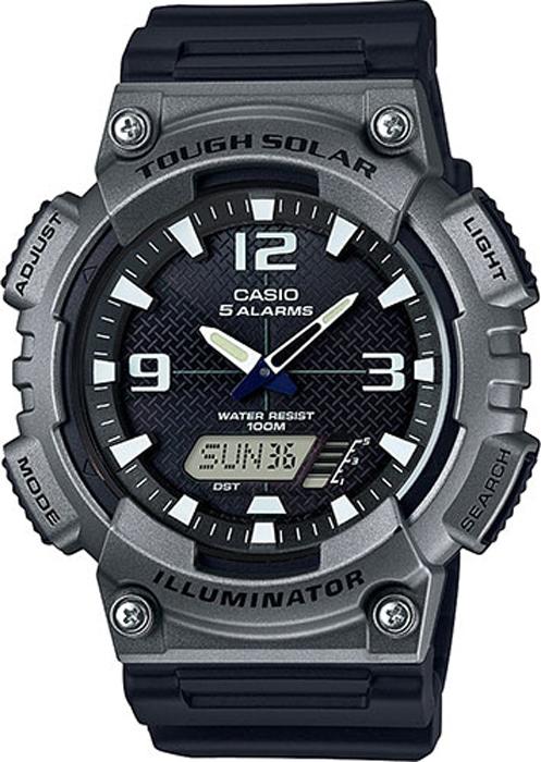 Наручные часы мужские Casio Collection, цвет: черный, серый. AQ-S810W-1A4AQ-S810W-1A4