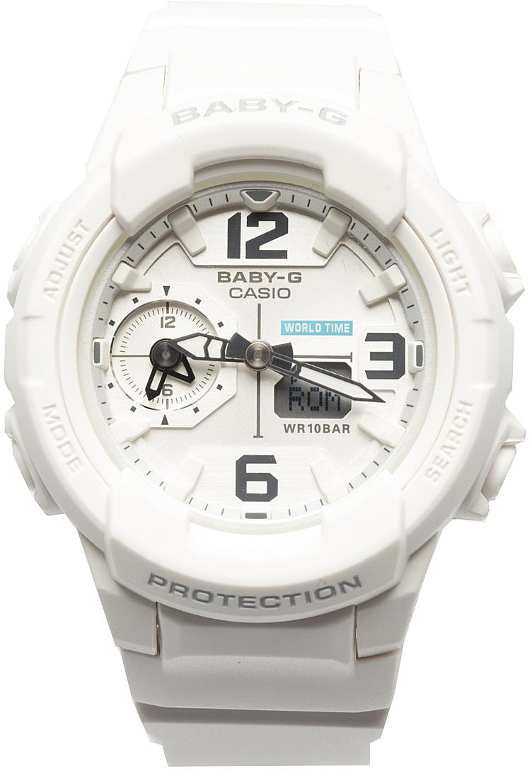 Наручные часы женские Casio Baby-G, цвет: белый. BGA-230-7BBGA-230-7B