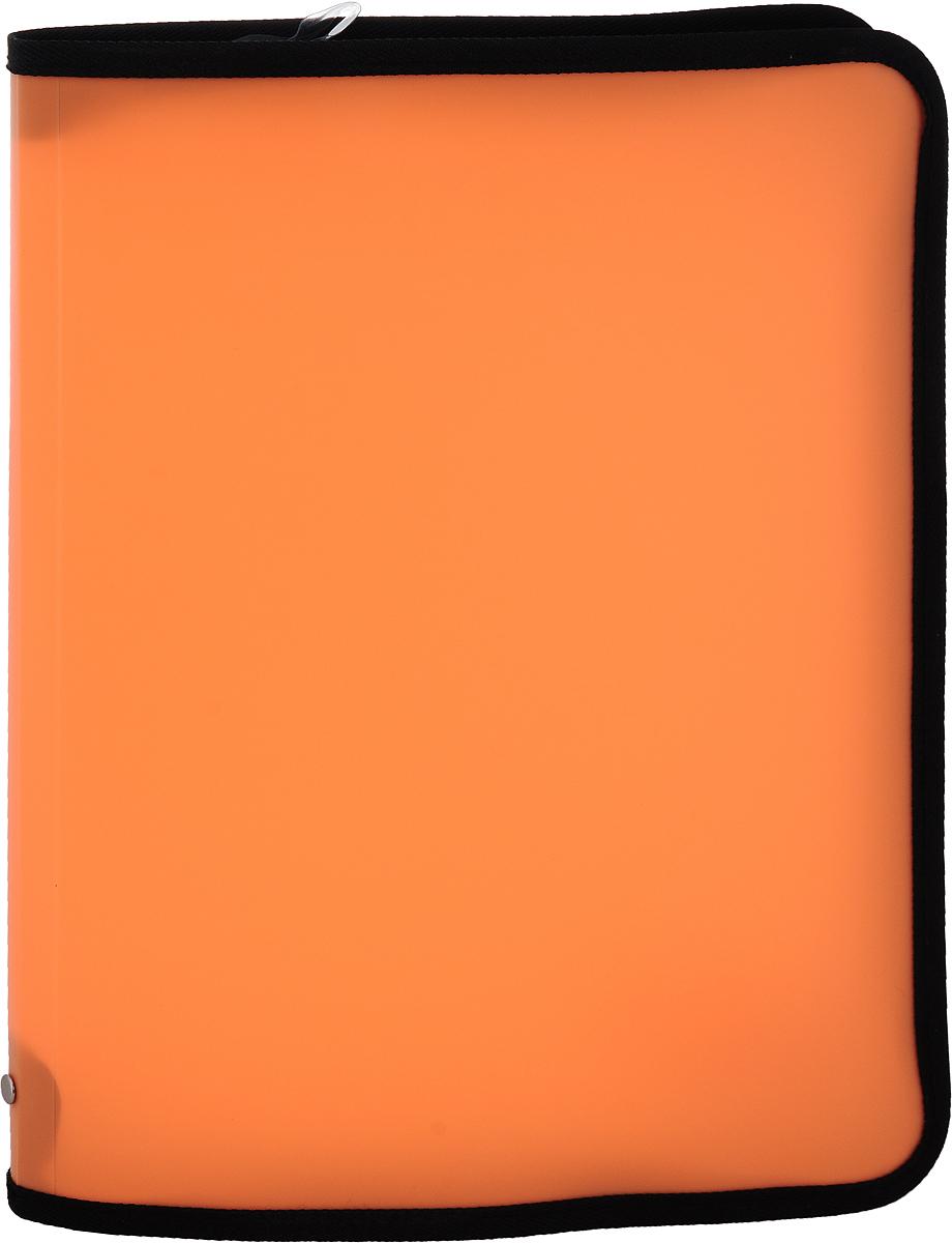 Erich Krause Папка на молнии Neon формат А4 цвет оранжевый31012
