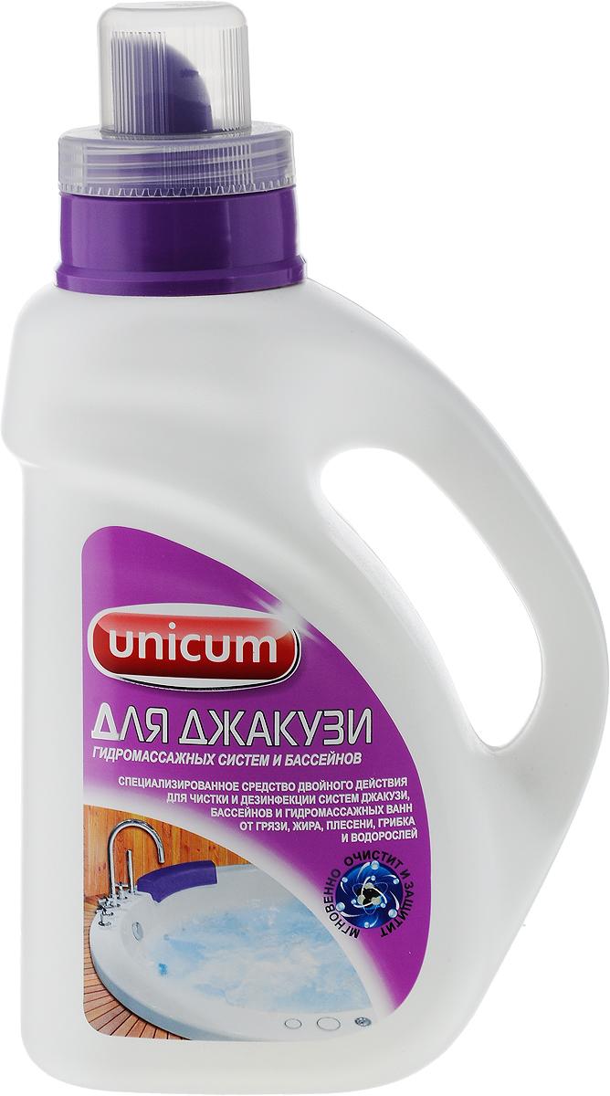 Средство для чистки джакузи Unicum, 1 л302234Чистящее средство Unicum предназначено для чистки и профилактики систем джакузи, массажных ванн и бассейнов. Средство предотвращает появление бактерий, грибков, водорослей, быстро и эффективно удаляет жиры, грязь и остатки мыла, обладает высоким уровнем дезинфекции. Обновляет поверхность, освежает ее и придает ей блеск на долгое время. Очищает как внутреннюю поверхность, так и внешнюю поверхность. Уважаемые клиенты! Обращаем ваше внимание на возможные изменения в дизайне упаковки. Качественные характеристики товара остаются неизменными. Поставка осуществляется в зависимости от наличия на складе. Товар сертифицирован.
