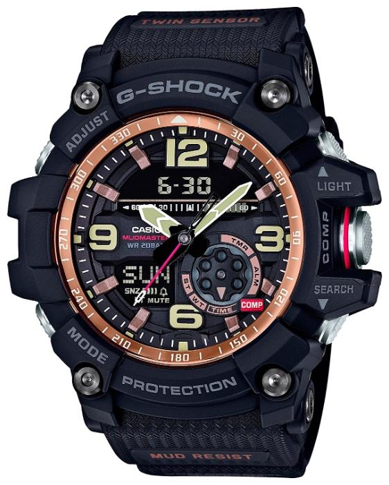 Наручные часы мужские Casio G-Shock, цвет: черный. GG-1000RG-1AGG-1000RG-1A