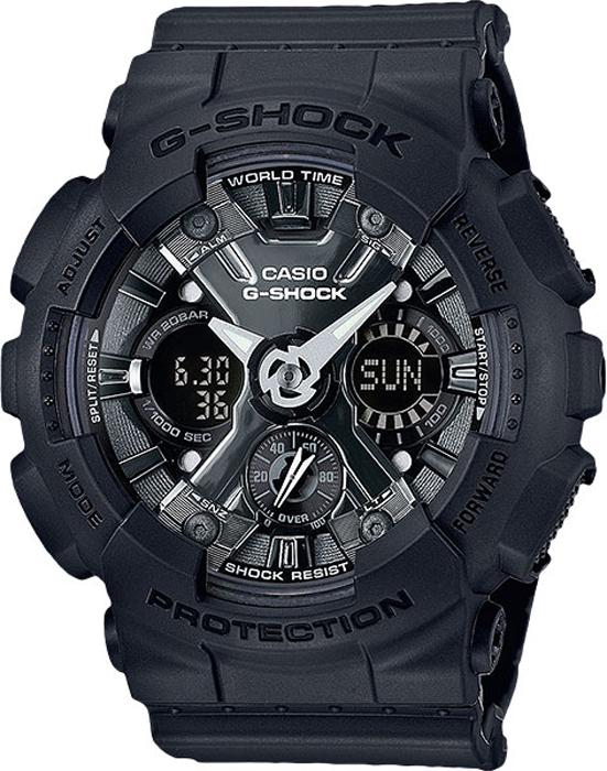 Наручные часы женские Casio G-Shock, цвет: черный, серый. GMA-S120MF-1AGMA-S120MF-1A