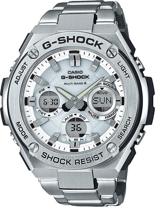 Наручные часы мужские Casio G-Shock, цвет: стальной. GST-W110D-7AGST-W110D-7A