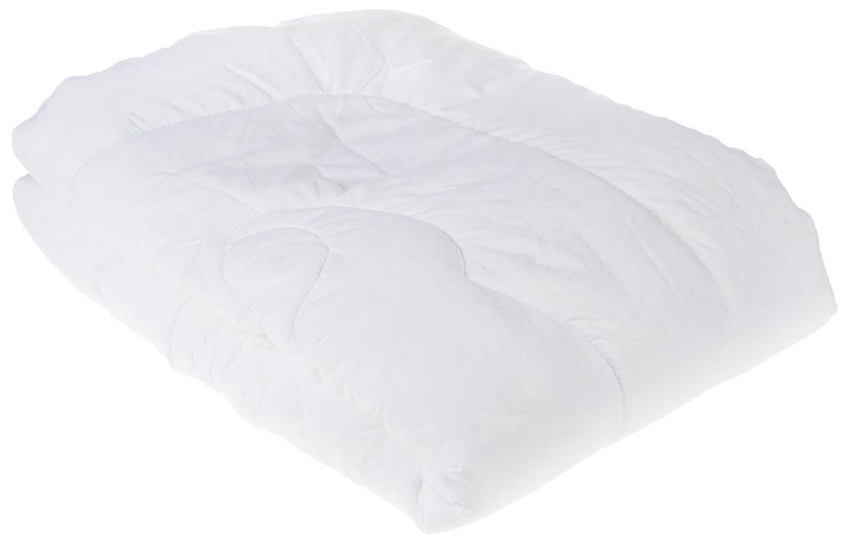 Одеяло Lara Home Лебяжий пух, всесезонное, цвет: белый, 140 х 205 см87104Наполнитель: пласт высокоизвитое силиконизированное волокно Лебяжий пух