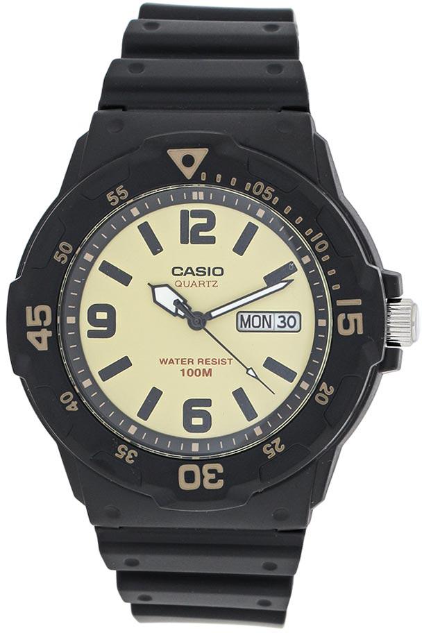 Наручные часы мужские Casio Collection, цвет: черный, песочный. MRW-200H-5BMRW-200H-5B