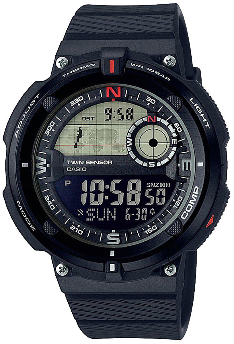 Наручные часы мужские Casio Collection, цвет: черный. SGW-600H-1BSGW-600H-1B