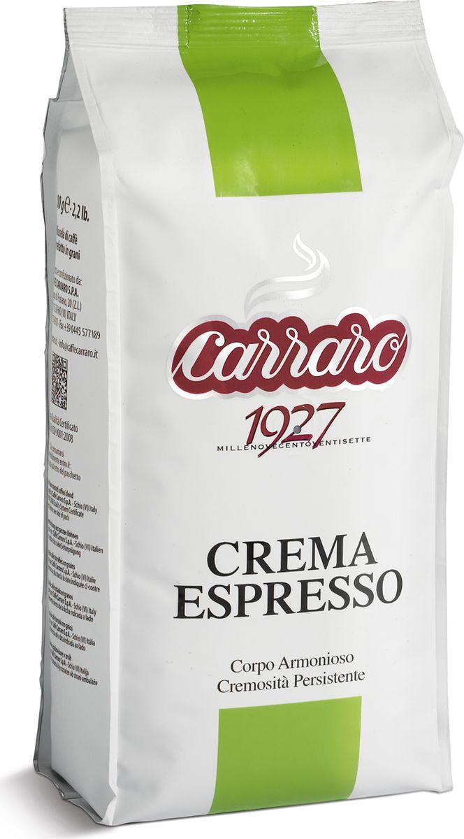 Carraro Crema Espresso кофе в зернах, 1 кг8000604001177Кофе Карраро Крема Эспрессо - натуральный жареный высший сорт, в зернах. Средняя обжарка. Арабика - 85%, Робуста - 15%.