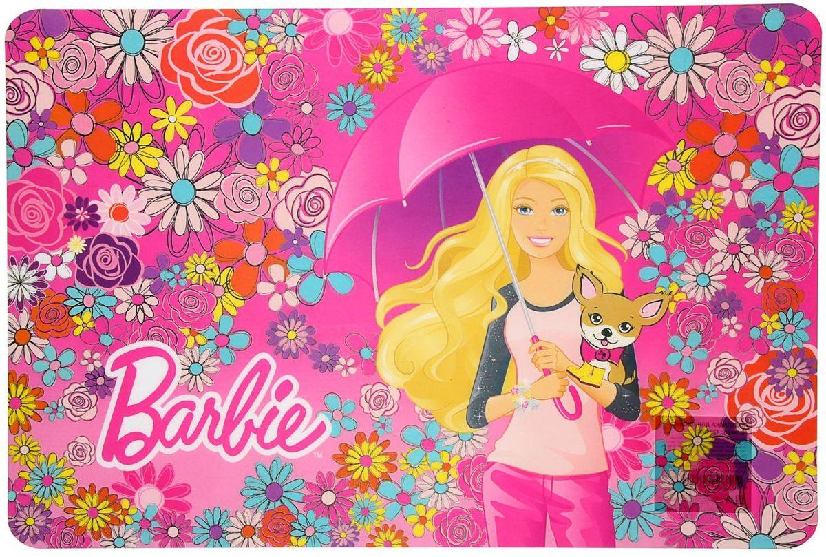 Mattel Настольное покрытие Barbie 48,5 х 33,5 см