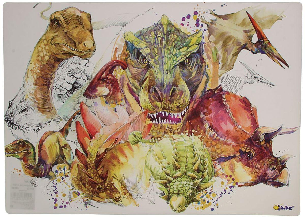 Оникс Настольное покрытие Динозавры 33 х 46 см 1764561