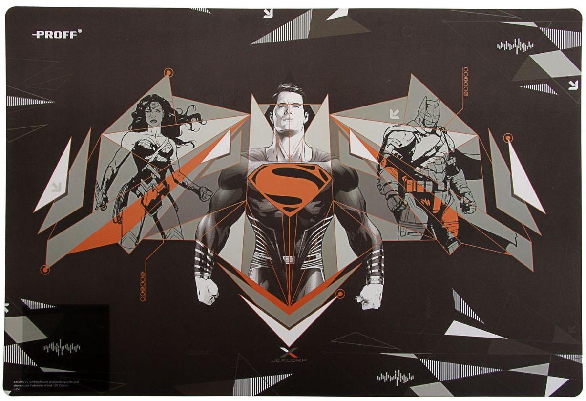 Proff Настольное покрытие Бэтмен против Супермена 43 х 29 см