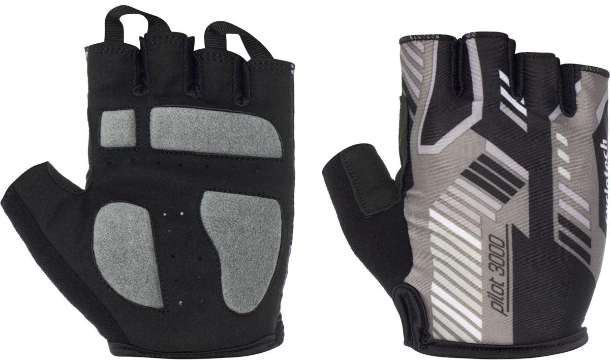 Велоперчатки Cyclotech Pilot, цвет: черный, серый. Размер SPILOT-RВелоперчатки Cyclotech Pilot отлично садятся по руке. Ладонь выполнена из полиамида и дополнена объемными вставками, тыльная сторона изготовлена из эластана и хлопка. Благодаря резинке перчатки легко надевать. Перчатки хорошо вентилируются, не дают руке скользить на руле и гасят неприятные вибрации.