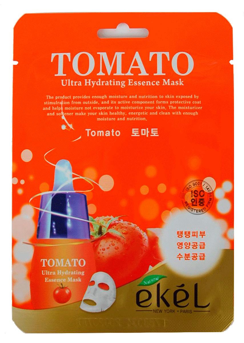Ekel Маска тканевая с экстрактом томата, 25 гр.270132Ekel Tomato Ultra Hydrating Mask - Маска тканевая с экстрактом томата, 25 гр. Тканевая маска с экстрактом томата прекрасно увлажняет и укрепляет уставшую кожу. Обладает легким отбеливающим эффектом и повышает эластичность кожи. После нее цвет лица становится однородным, поры стягиваются, стираются следы усталости. Питательные вещества, содержащиеся в томатах, хорошо укрепляют и тонизируют кожу, делая ее упругой и даря ей здоровый цвет.