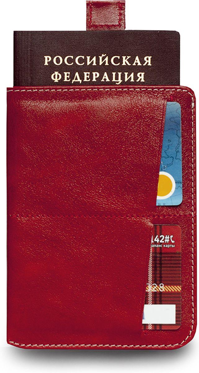 Обложка для паспорта Zavtra, цвет: красный. zav03redzav03redОбложка для документов Zavtra — это лучшее средство от бюрократической скуки. В нее может войти все необходимое и сразу — паспорт, права, пластиковые карты и даже купюры или, например, посадочный талон. Паспорт эффектно извлекается при помощи специального «язычка» — пользоваться ей одно удовольствие. Входит и выходит. В обложке предусмотрен основной отсек для паспорта, два отсека под пластиковые карты и обратный глубокий карман свободного назначения.