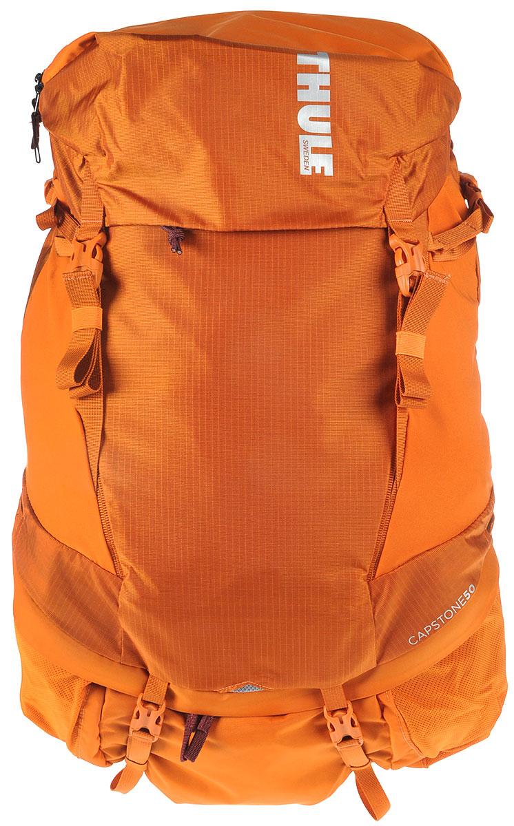 Рюкзак туристический мужской Thule Capstone, цвет: коричневый, 50 л223102Идеален для однодневного пешего похода или непродолжительного похода легкого уровня. Имеет полностью регулируемую подвеску, воздухопроницаемую заднюю панель и вшитый дождевой чехол.