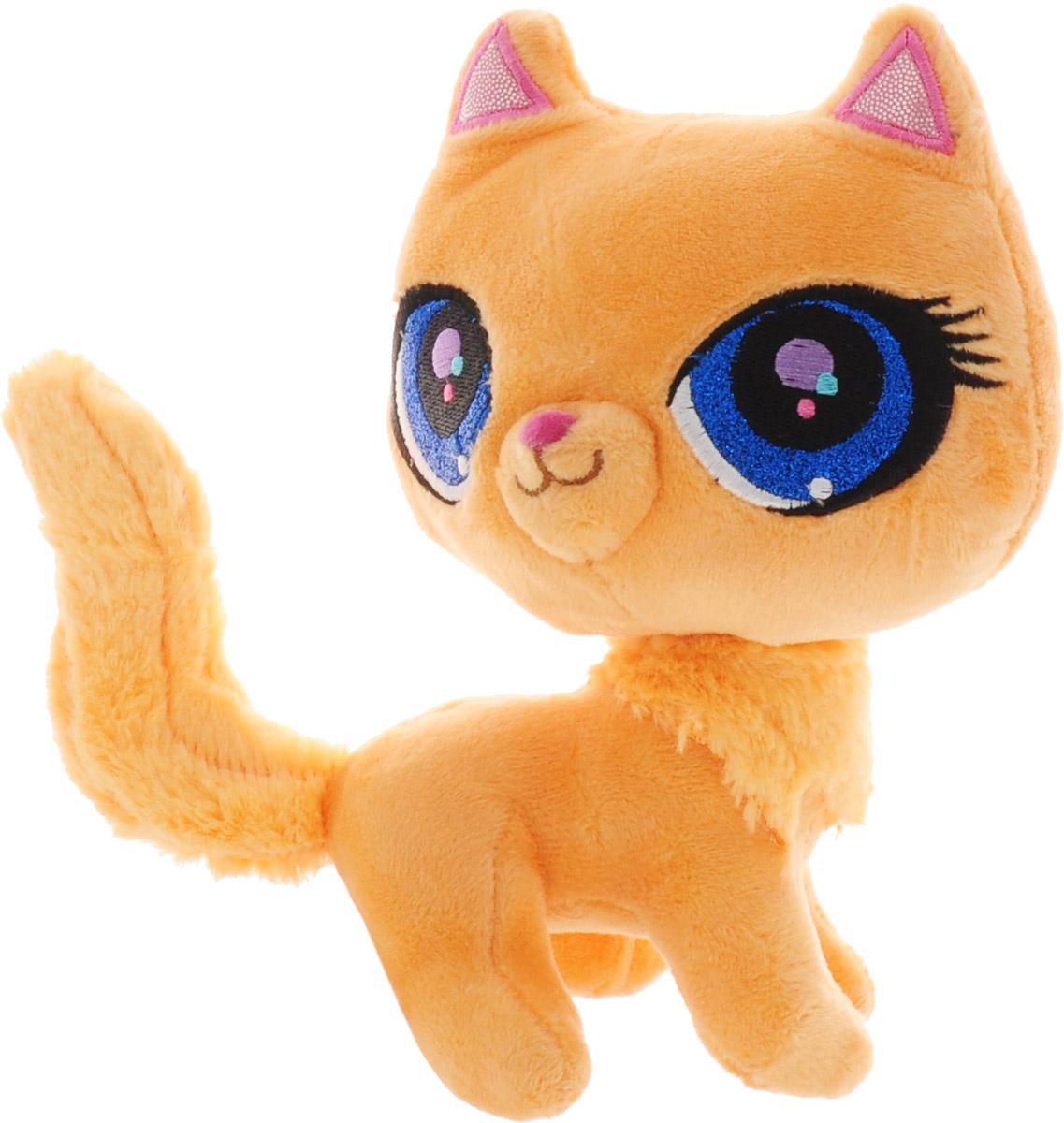 Мульти-Пульти Мягкая Игрушка Рыжая кошка Litttlest Pet Shop 17 см V27909/17