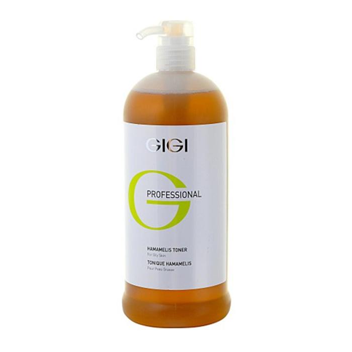GIGI Лосьон Гамамелис для жирной кожи Outserial, 1000 мл149Предназначен для ухода за комбинированной и жирной кожей, предрасположенной к угревой сыпи и с выраженным расширением сосудов (купероз, телеангиоэктазии). Основной компонент - гамамелис или орех Вирджинии. Целебный экстракт получают из листьев и коры этого кустарника. Действие: Лосьон обладает антисептическим действием (эффективен при лечении гнойных воспалений), сосудосуживающим (поэтому оказывает благоприятное воздействие при куперозе), тонизирующим, освежающим действиями. Является нежным очистителем кожи, а также ощутимо уменьшает секрецию сальных желез и хорошо сужает поры. Активные ингредиенты: экстракт гамамелиса, камфара, производное SD#40.