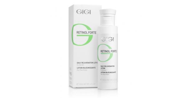 GIGI Лосьон-пилинг для жирной кожи Retinol Forte, 120 мл172Представляет собой высокоактивный концентрат для комбинированной и жирной кожи. Содержит высокий процент активного ретинола. Действие: Усиливает регенерацию клеток, регулирует работу сальных желез, шлифует и сужает поры, укрепляет и смягчает кожу. Оказывает выраженное противовоспалительное и мягкое кератолитическое действия, способствует заживлению мелких ранок. Хороший эффект также дает при местном лечении кожи, осложненной угревой сыпью. Активные ингредиенты: гликолевая кислота, пероксид водорода, фосфорная кислота, ацетанилид, ретинилпальмитат.