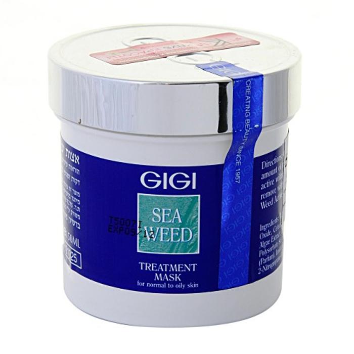 GIGI Маска для жирной и чувствительной кожи Sea Weed, 250 мл183Предназначена для смешанной, жирной чувствительной и кожи с легкой степенью угревой сыпи. Применяется в динамике при коррекции акне линией Липацид, а также при возрастных (поздних) и физиологических акне. Действие: Благодаря высокой концентрации активных ингредиентов, включающих в себя экстракт водорослей и экстракты лекарственных растений, оказывает мощное противовоспалительное, антисептическое и антибактериальное действие, легко очищает кожу от отмерших клеток рогового слоя, стимулирует обмен веществ, обогащает клетки кислородом, обладает поросуживающим и увлажняющим эффектом. Маска великолепно успокаивает кожу после глубокой косметической чистки лица, осветляет пятна. Активные ингредиенты: Экстракт водорослей, экстракты шалфея, розмарина и гамамелиса, биосера, алантоин, молочная кислота, окись цинка, каламин.