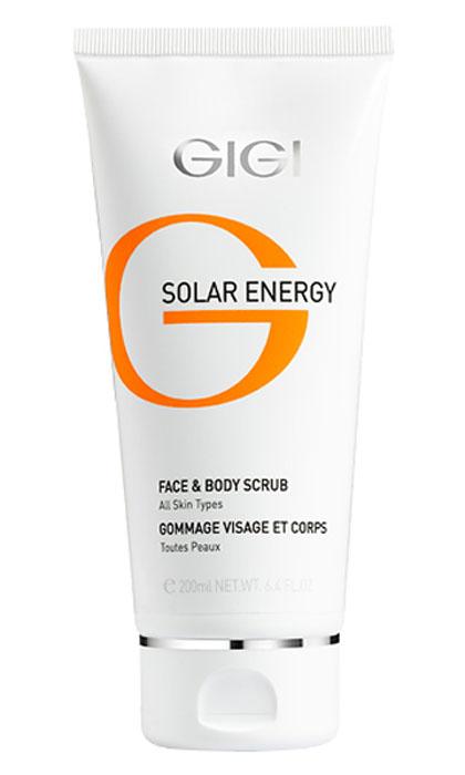 GIGI Скраб минеральный для лица и тела Solar Energy, 200 мл194Мыльный пилинг - скраб для Для всех типов кожи оказывает комплексный эффект: - Поверхностное очищение пышной пеной; - Глубокое очищение и отшелушивание отмерших клеток рогового слоя нежными полиэтиленовыми гранулами; - Минерализация и укрепление кожи благодаря минералам K, Ca, Mg, Na, и солям - бромидам, хлоридам, сульфатам, а также витамину Е и бисабололу; - Шлифовка и стягивание пор, уменьшение сальности кожи. Активные ингредиенты: Лактоза, целлюлоза, оксид железа, витамин Е, бисаболол, минеральная вода, магний, калий, кальций, натрий, бромиды, хлориды, сульфаты, очищающие компоненты.
