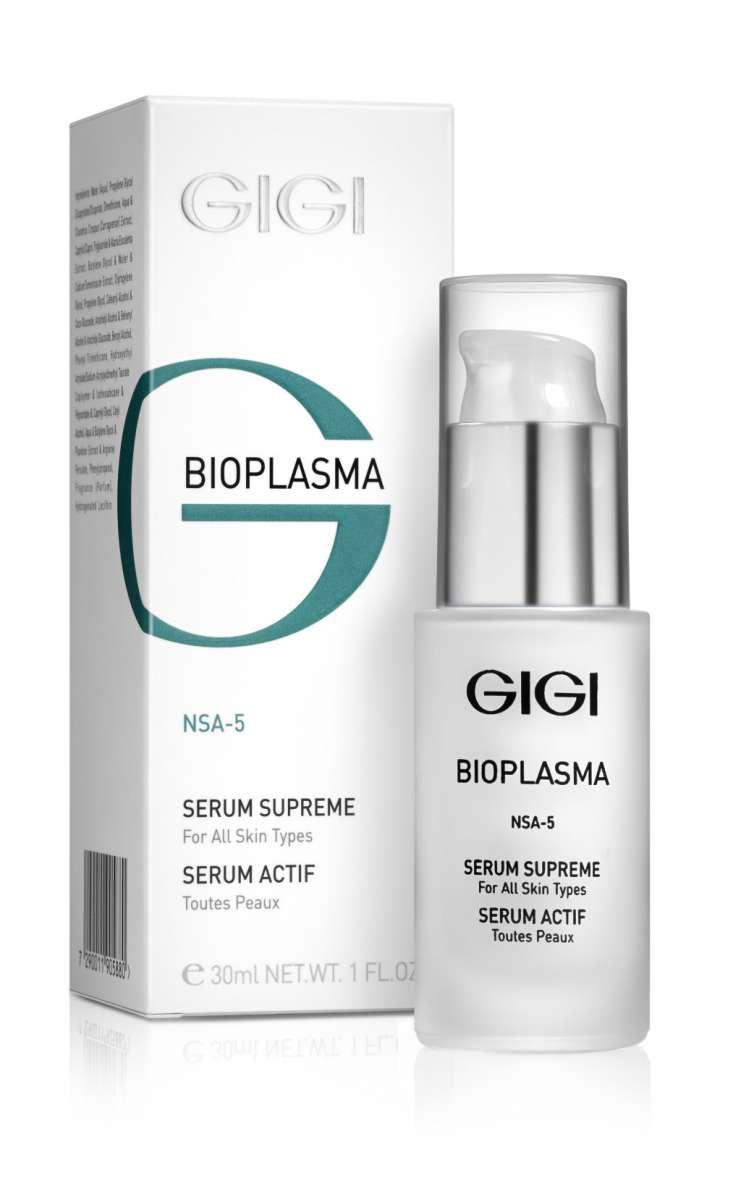 GIGI Сыворотка энергетическая Bioplasma Serum Supreme, 30 млgi24078Высокоэффективная сыворотка для любого типа кожи, предупреждающее старение кожи и образование морщин. Обеспечивает интенсивный комплексный уход за кожей в процессе ее естественного старения, стрессов, нездоровым образом жизни. Нейтрализует действие свободных радикалов, оказывающих решающее воздействие на процессы старения. Активные компоненты: Гидроксиэтил мочевина, экстракт бурой водоросли, экстракт Криспа, Дипропиленгликоль, Сукцинат Кастор изостеарат, кальприан, ламинарган, кодиблан. Результат: Сыворотка обеспечивает молодой вид кожи: регенерацию, увлажнение, питание и защиту.