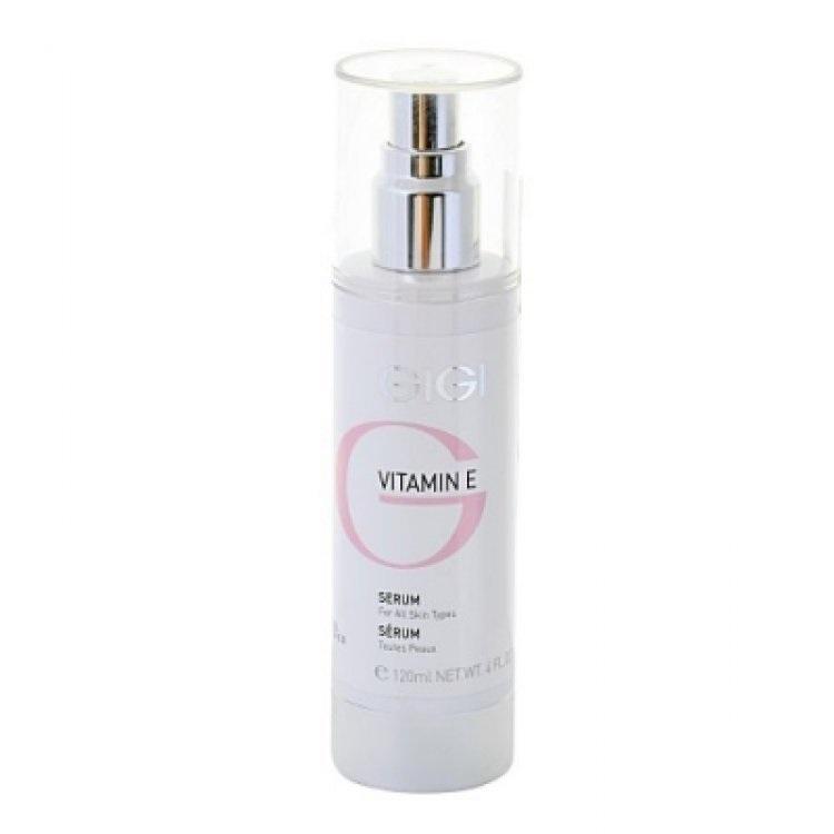 GIGI Сыворотка Vitamin E, 120 млGIGI208Высокоактивное и эффективное косметическое средство, предупреждающее старение кожи и образование морщин и укрепляющее сосуды. Сыворотка содержит природные компоненты и витамин Е в высокой концентрации и обеспечивает интенсивный комплексный уход за кожей любого типа. Стимулирует обмен веществ в коже, нейтрализует действие свободных радикалов — основных виновников преждевременного старения, стимулирует процессы регенерации, клеточного дыхания, увлажнения и питания кожи. Благодаря тонкой текстуре хорошо усваивается кожей. Активные ингредиенты: витамин Е, молочная кислота и ее соль, серин, мочевина, аллантоин, глицин, аланин, креатин, гель алоэ, пантенол, лецитин, сахариды, аспартат магния, NMF.