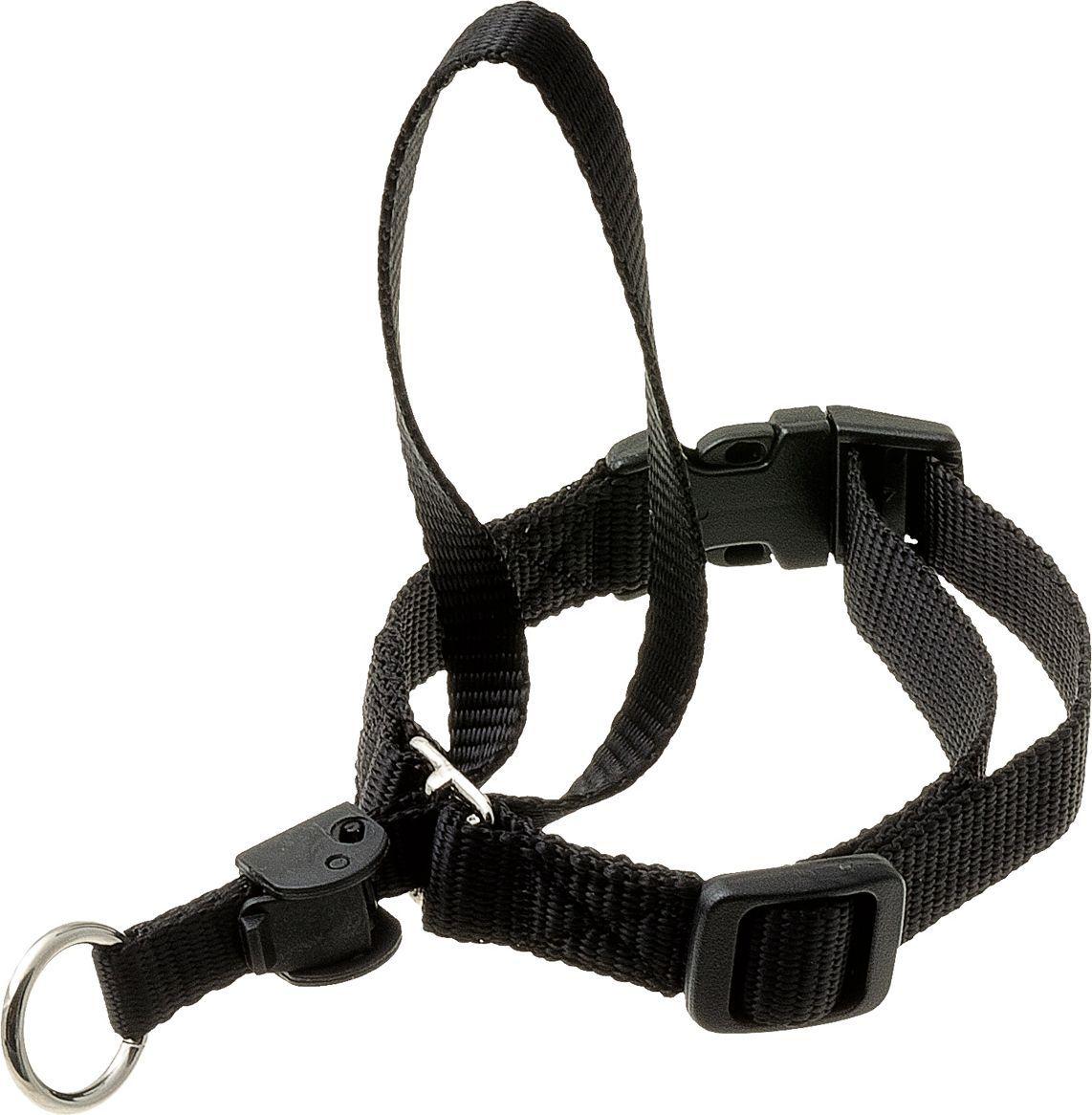Недоуздок для собак V.I.Pet, цвет: черный. Размер 1 (шея 29-38 см)70-2926Недоуздок для собак размер 1 (шея 29-38 см)