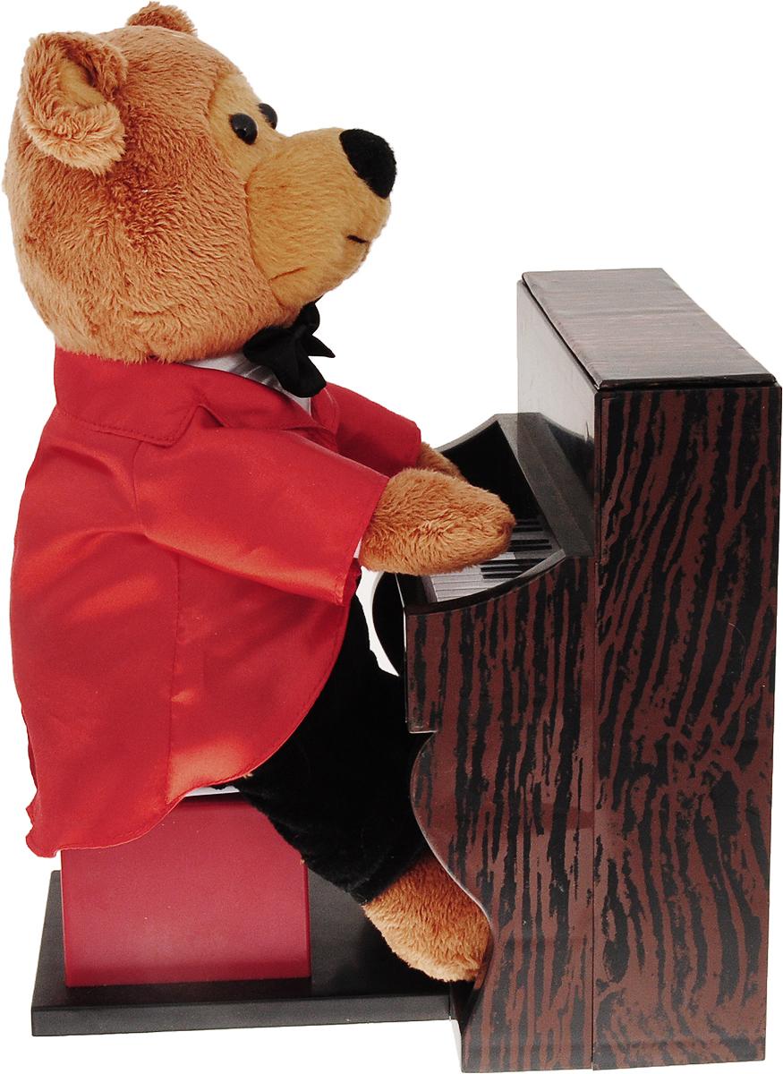 Музыкальные подарки Мягкая игрушка Медвежонок пианист