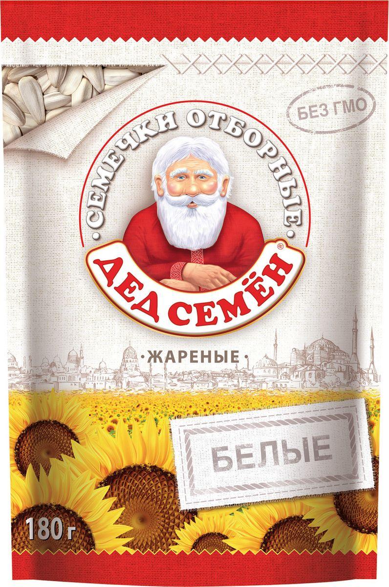 Дед Семен семечки белые соленые, 180 г