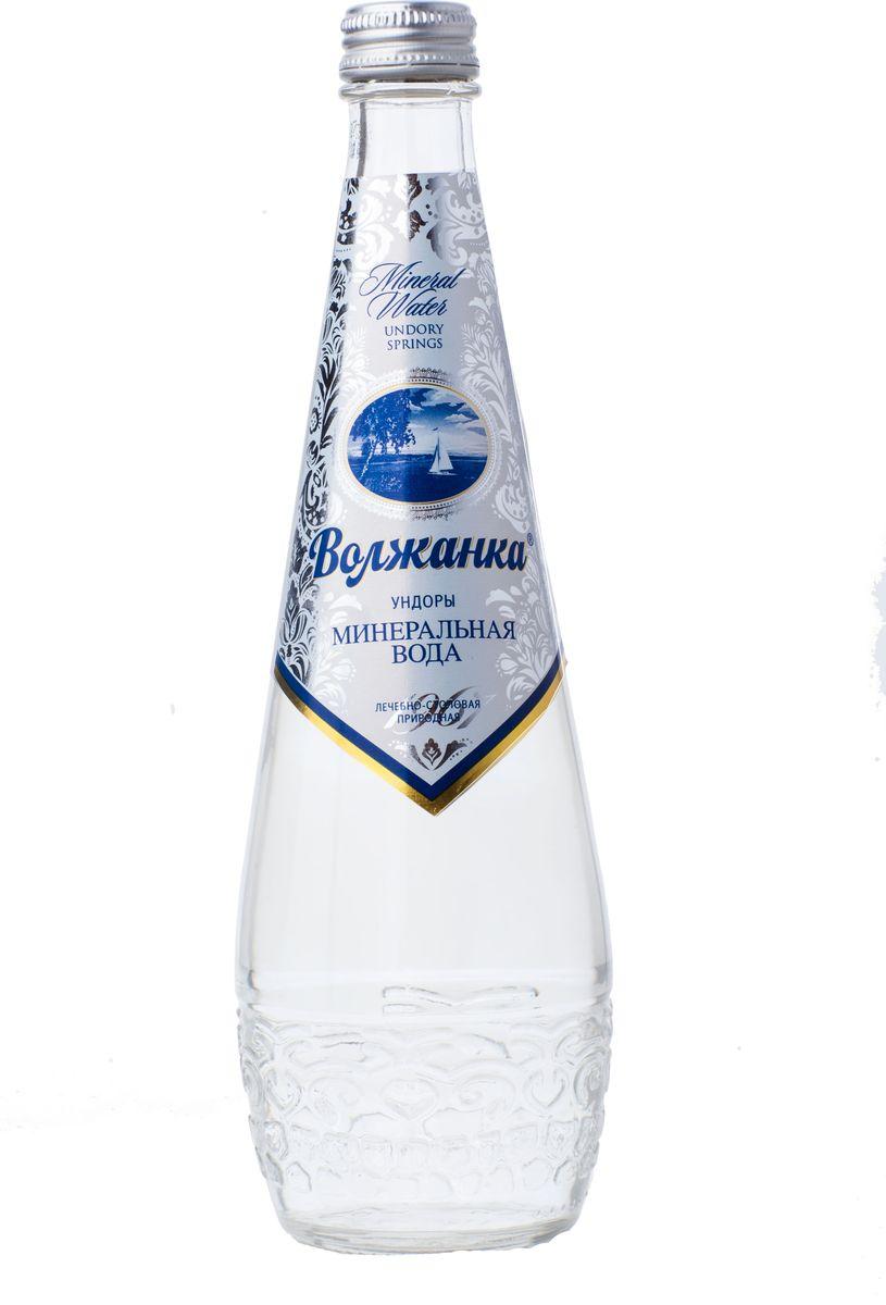 Волжанка минеральная вода, 0,5 л (стекло) УТ040810299