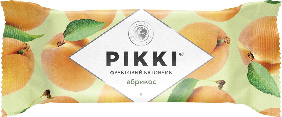 Pikki Абрикос-Яблоко батончик орехово-фруктовый, 25 гУТ040810402Полезные снеки из орехов, злаков и сухофруктов для быстрого перекуса.