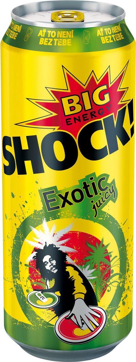 Bigshock! Exotic энергетический напиток, 0,5 л