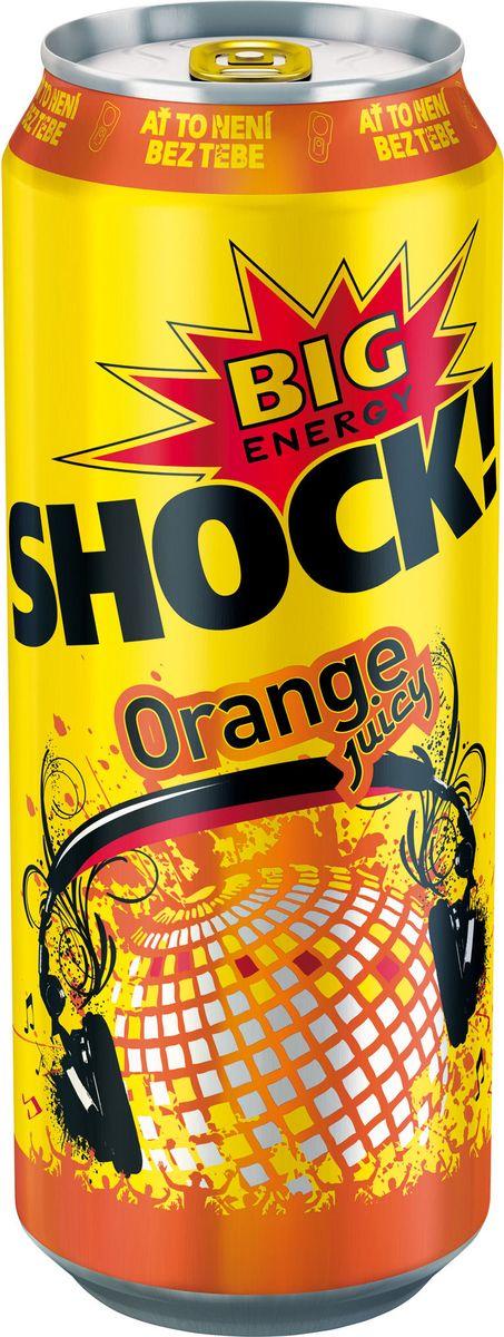 Bigshock! Orange энергетический напиток, 0,5 лУТ040810367Bigshock! - энергия со вкусом. Освежающий ароматный напиток, содержащий натуральный кофеин, таурин, витамины и 10% фруктового сока. Умеренная газация. Долгое послевкусие. Неподражаемый вкус. Взбудораживающий эффект. Снимает усталость и освежает внимание. Подходит для увеличения физической активности. Употреблять охлажденным! Хранить в сухих, чистых помещениях при относительной влажности воздуха не более 75%. При температуре от 0`С до +20`С