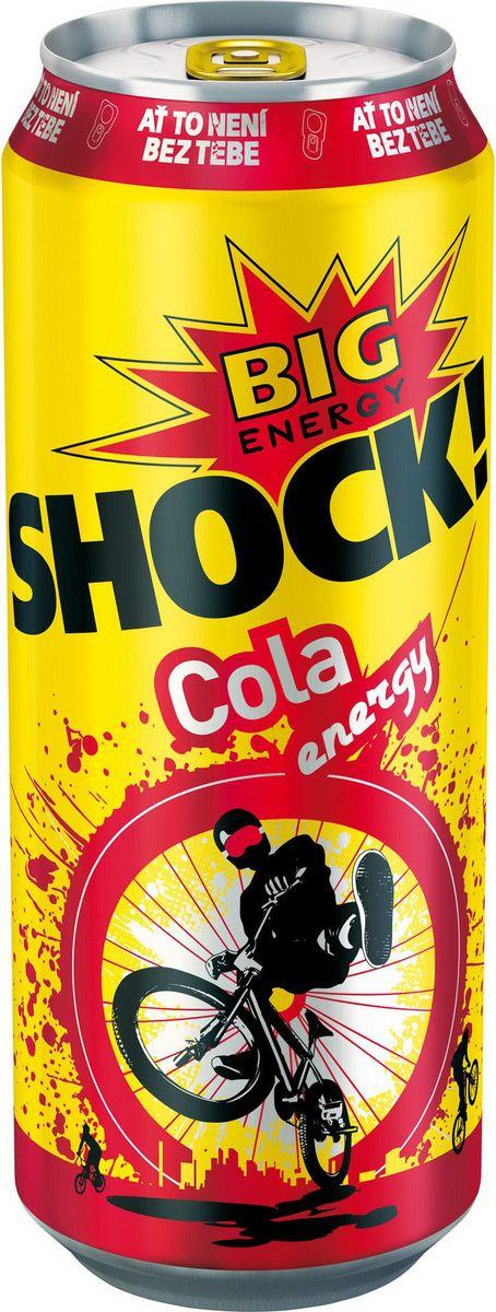 Bigshock! Cola энергетический напиток, 0,5 л