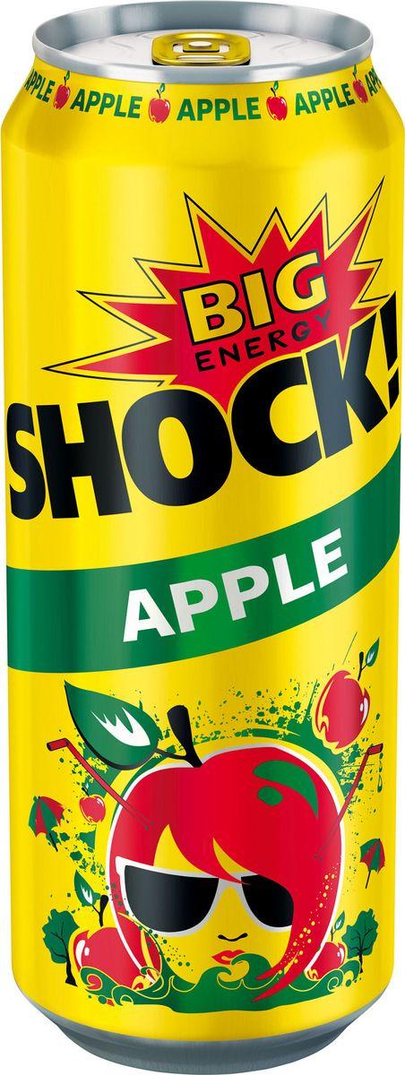 Bigshock! Apple энергетический напиток, 0,5 лУТ040810369Bigshock! - энергия со вкусом. Освежающий ароматный напиток, содержащий натуральный кофеин, таурин, витамины и 10% фруктового сока. Умеренная газация. Долгое послевкусие. Неподражаемый вкус. Взбудораживающий эффект. Снимает усталость и освежает внимание. Подходит для увеличения физической активности. Употреблять охлажденным! Хранить в сухих, чистых помещениях при относительной влажности воздуха не более 75%. При температуре от 0`С до +20`С